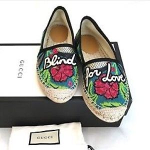 "🆕 Gucci""Blind for Love""❤️espadrilles( Run Small)"